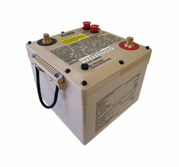 A lithium LFP military 6T battery from Epsilor