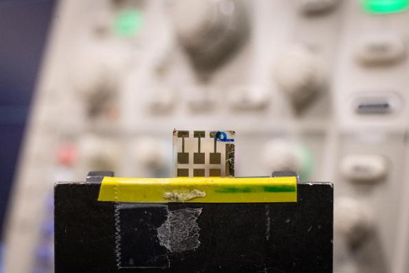 A perovskite LED developed in Sweden can also be used as a diode in a low cost optical transceiver that can be integrated into a chip