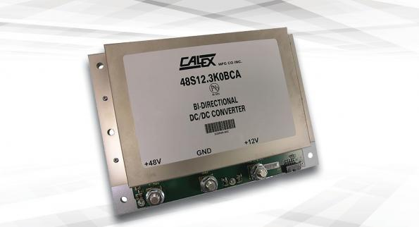 The 3kW BCA DC-DC converter from Murata subsidiary Calex Manufacturing has an efficiency of up to 97 per cent