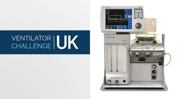 The first modified design from the UK's ventilator challenge concortium has received approval and is entering volume production to support patients with Covid-19