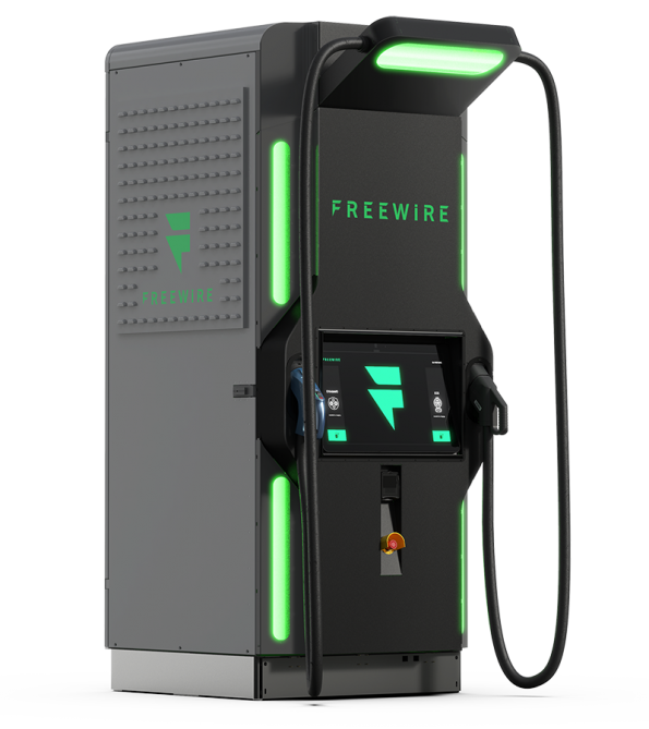 FreeWire's battery backed smart charger