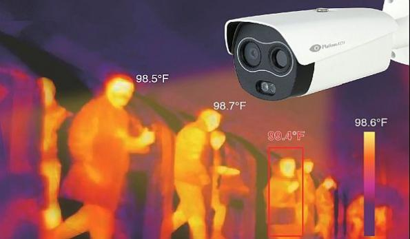 AI body temp sensing 'fever' camera protects employees, customers