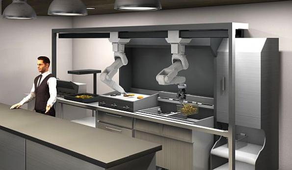 Robot kitchen assistant startup opens investment to the masses