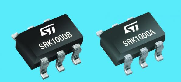 The SRK1000A and SRK1000B synchronous rectification controllers from ST Microelectronics use adaptive logic to reduce the size of battery chargers, quick chargers, adapters and USB power-delivery outlets.