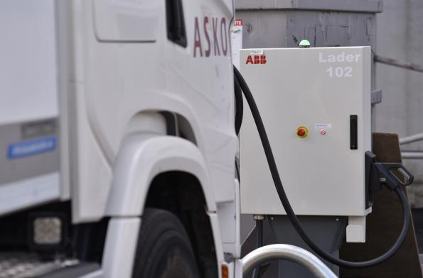 ABB has teamed up with Norway's largest grocery wholesaler ASKO, and its owner NorgesGruppen, to supply high power charging infrastructure for its growing fleet of electric trucks.