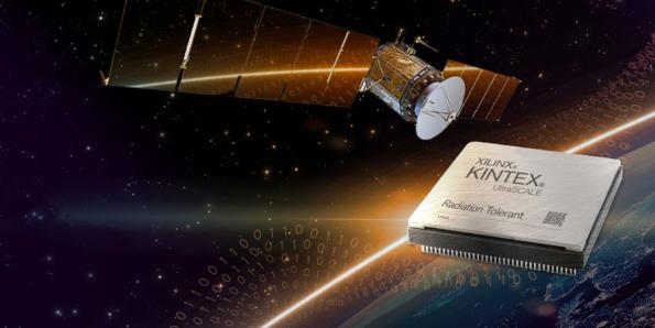 Xilinx has launched a 20nm reconfigurable FPGA qualified for use in space and optimised for machine learning frameworks