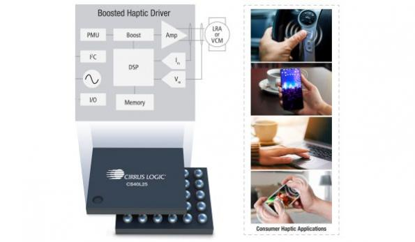 Haptic ICs enable immersive 'touch' user experiences