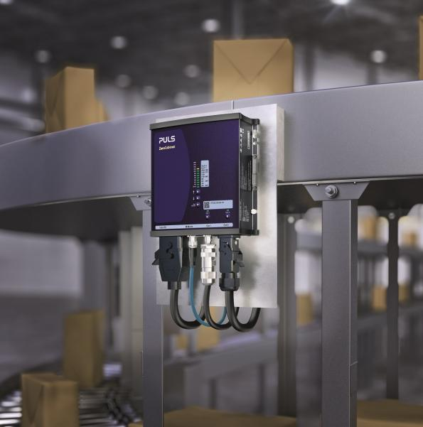 The 500W ZeroCabinet from PULS Power is a waterproof, distributed Point of Load power system