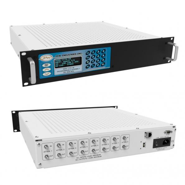 JFW variable attenuator covers WiFi 6E bands