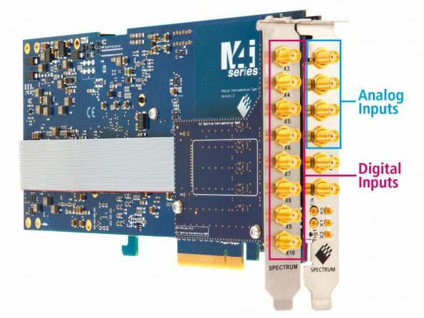 PCIe digitizers