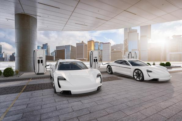 ABB's Terra 180 fast charger provides 184kW for three vehicles simultaneously with the latest 920V battery packs
