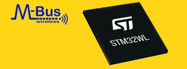 STMicroelectronics has added the wM-Bus Stack to its STM32WL sub-GHz smart meter wireless microcontrollers