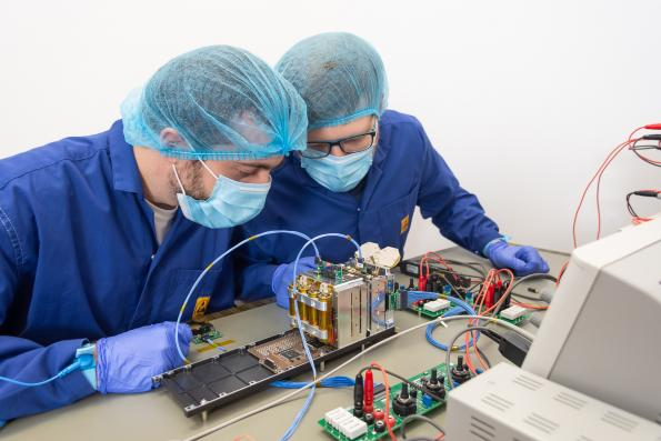 Project takes automotive AI chips into space