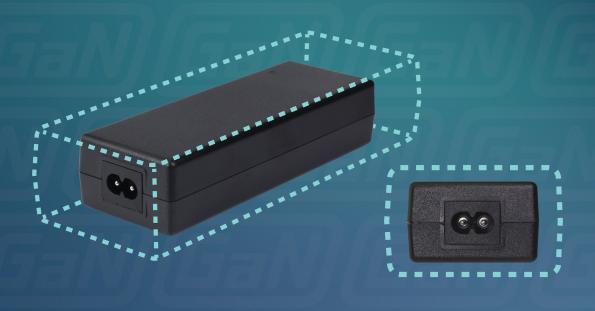 The SDI160G-U and SDI160G-UD 160W GaN power adapter families from CUI are half the size of the silicon version