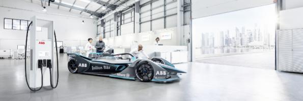 ABB to supply charging technology to Formula E