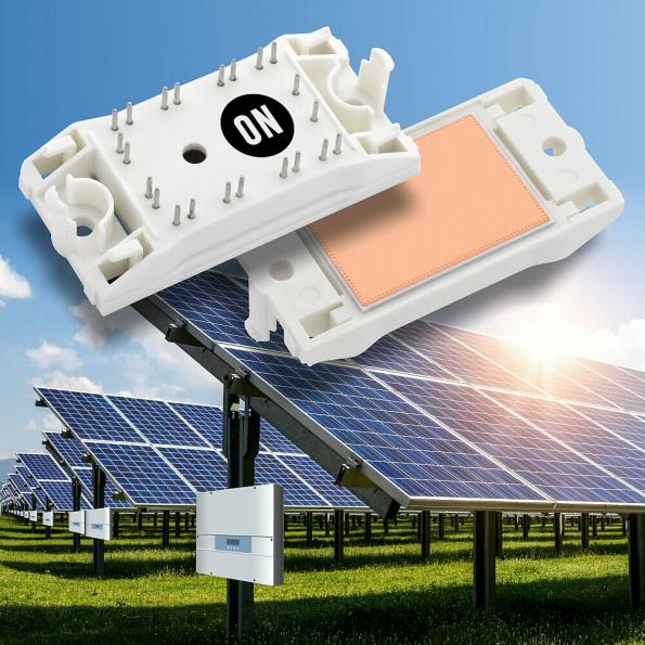 The NXH40B120MNQ family of full SiC power modules from On Semiconductor is being used in a three phase photovoltaic inverter from Delta with an efficiency of 98.8 percent