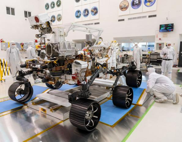 European tech set for Mars rover launch