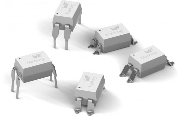 The coplanar WL-OCPT Series 816 optocoupler family from Würth Elektronik has an insulation voltage of 5kV.