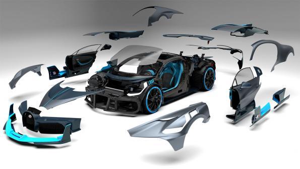 Bugatti pushes VR design of Divo supercar