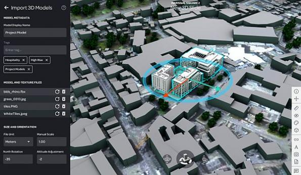 New digital twin software to be showcased on smart district project