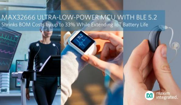 Ultra-low-power dual-core MCU shrinks IoT BOM costs
