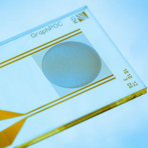 Researchers at Fraunhofer IZM in Berlin have developed a graphene oxide sensor to detect detect acute infections such as sepsis or Covid-19 antibodies in minutes