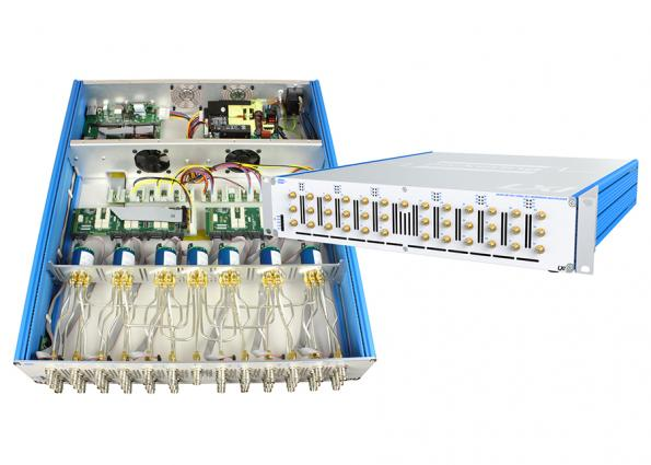 Turnkey LXI microwave switch and signal routing service