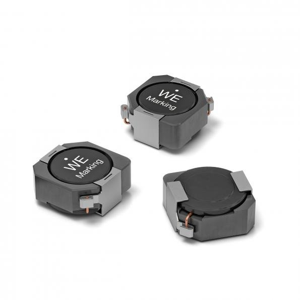 Würth Elektronik has launched a magnetically shielded SMT-mountable storage choke with high inductance for DC-DC converters.
