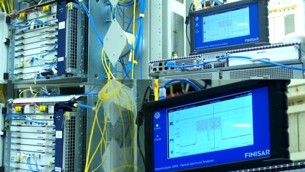 The WaveAnalyzer and WaveShaper test systems from II‐VI have been used on the first live network trial of 800Gbit/s transmission on a single channel.