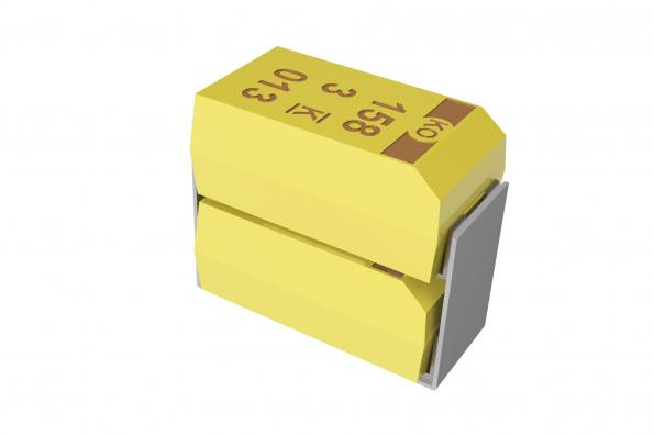 Kemet's TSP 7360-43 75V capacitor is aimed at high frequency designs using gallium nitride (GaN) devices