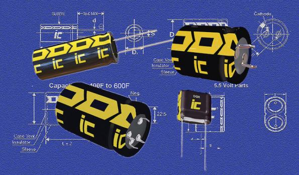 Cornell Dubilier has extended its DGH supercapacitor range to 600 farads.