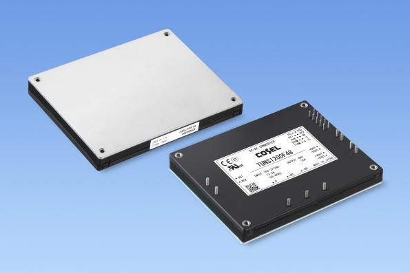 1.2 kW low profile AC-DC module for industrial and medical