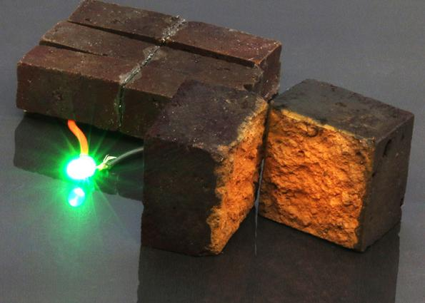 Researchers at Washington University in St. Louis, US, have converted an ordinary housebrick into a supercapacitor to store charge as part of a building