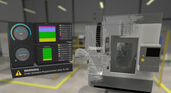 UK developer Lanner has teamed up with Virtalis to integrate predictive simulation and virtual reality (VR) visualisation tools for digital twin environments.