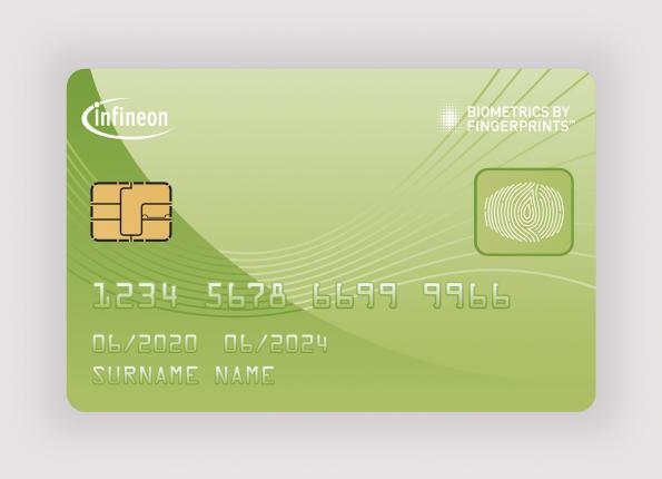 Infineon teams for mass deployment of fingerprint payment cards