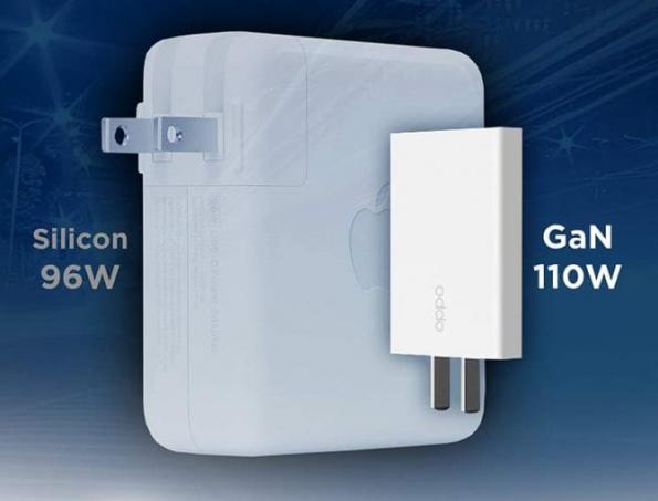 GaN design shrinks fast charger
