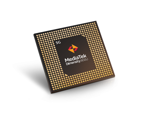 The Dimensity 800U is a tweaked version of Mediatek's 7nm 5G chip, adding dual SIM support