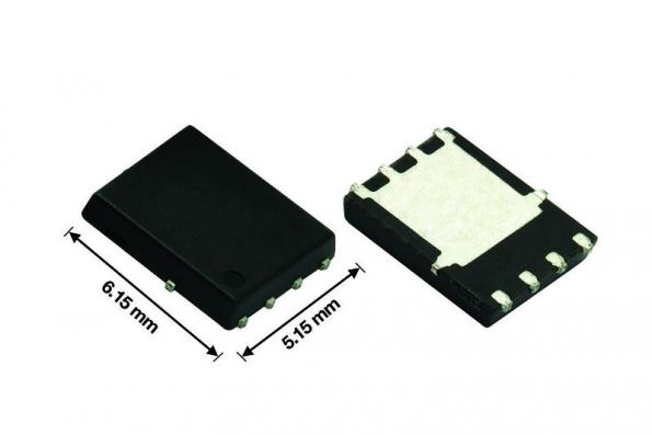 Vishay's 30V SiRA99DP MOSFET is offered in a PowerPAK SO-8 package with an on resistance of 1.7 mΩ at 10V