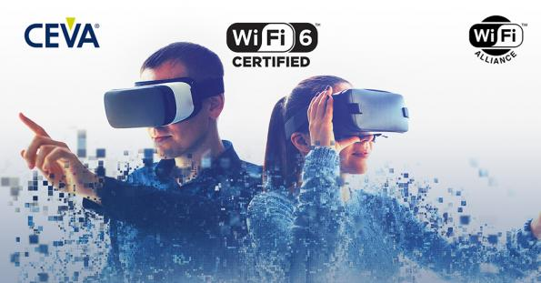 CEVA Wi-Fi 6 IP first to achieve Wi-Fi CERTIFIED 6™ status