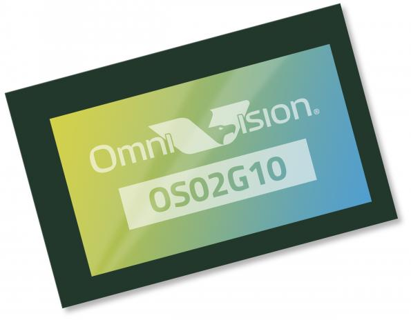 The OS02G10 image sensor from OmniVision Technologies is aimed at consumer IoT security cameras