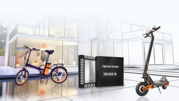16 cell reference design supports 48V micromobility