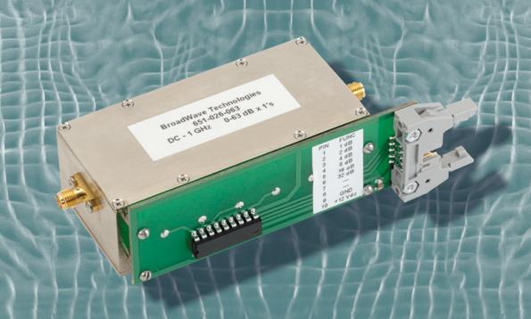 BroadWave electromechanical programmable attenuator