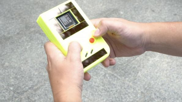 First battery-free energy harvesting GameBoy
