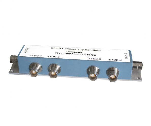 A range of bus couplers from Cinch Connectivity is aimed at test systems using the 1553B bus standard
