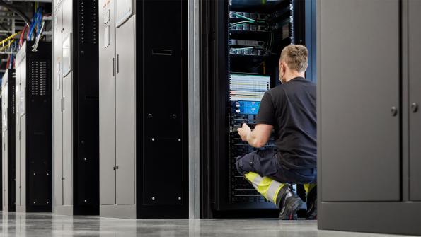 Apple's data centre in Viborg