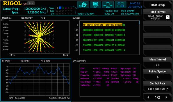 Real time spectrum analyzer adds VNA as standard