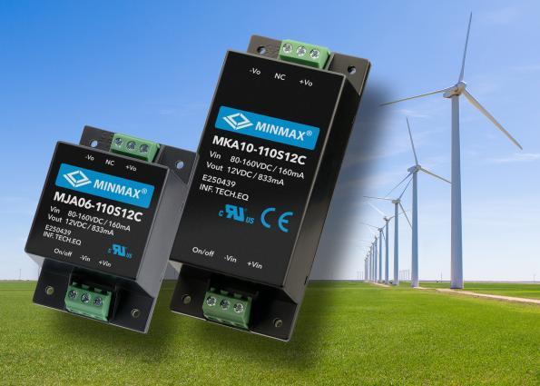 60W DC-DC converter modules have 3kV isolation