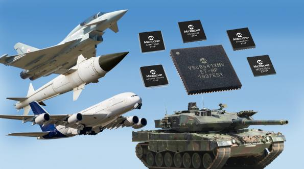 High-reliability Ethernet PHY transceiver targets aerospace and military applications