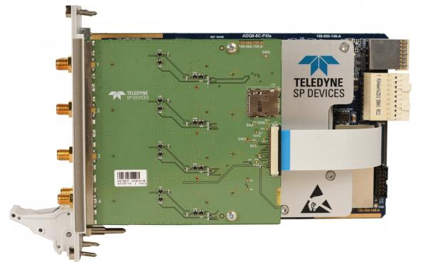Multi-channel 10bit digitizer with up to 4 GS/s sampling