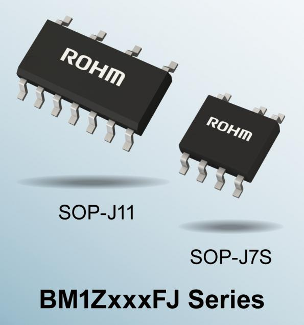 Rohm's BM1ZxxxFJ integrated zero cross detection series is optimized for home appliances such as vacuum cleaners, washing machines, and air conditioners.